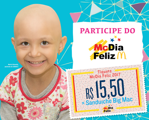 A campanha McDia Feliz 2017 está chegando!