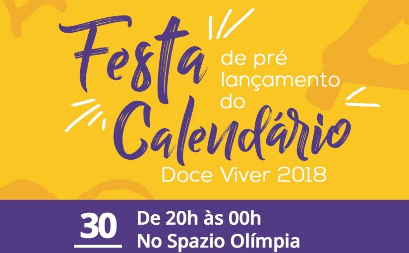 Calendário Doce Viver 2018