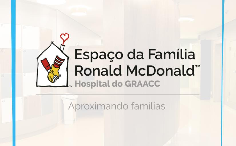 GRAACC INAUGURA ALA ESPECIAL PARA CONFORTO DE PACIENTES E FAMILIARES