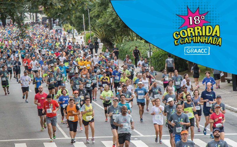 18ª Corrida e Caminhada GRAACC – Inscrições Abertas