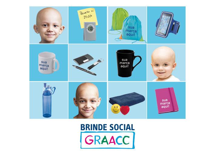 GRAACC lança linha especial de brindes corporativos