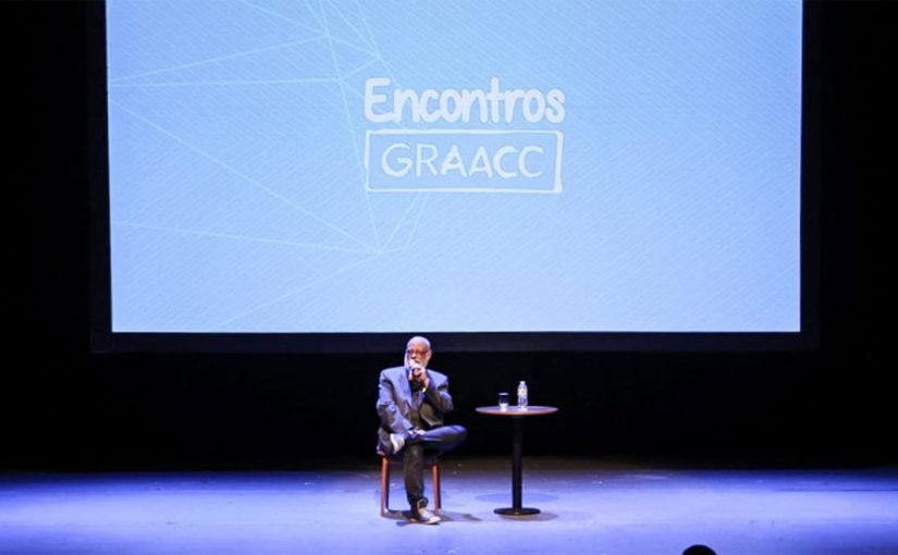 Encontros GRAACC com palestra de Luiz Felipe Pondé ocorreu ontem no Teatro das Artes