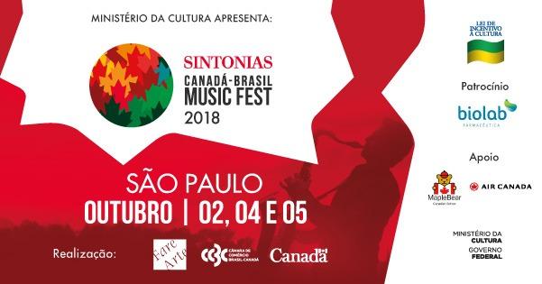 Sintonias Canadá-Brasil Music Fest