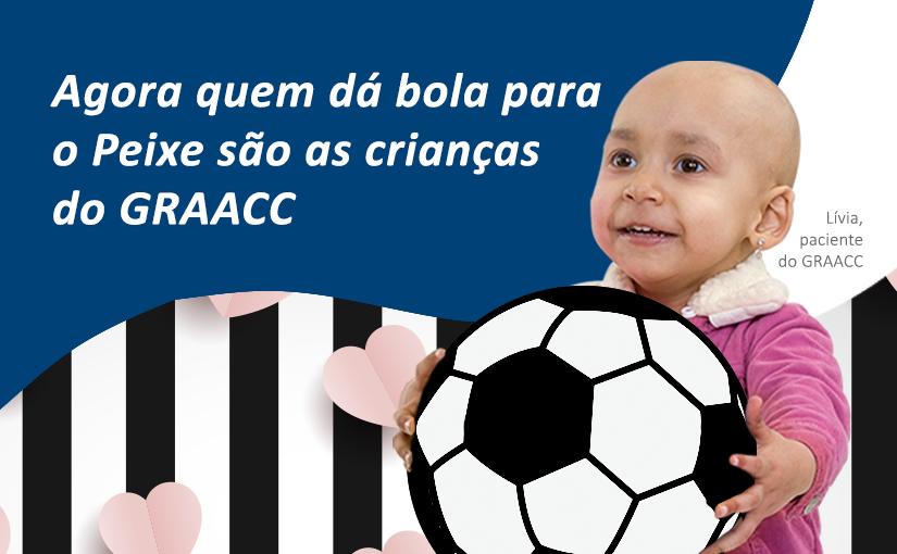 O Santos Futebol Clube apoia o GRAACC no combate ao câncer infantojuvenil
