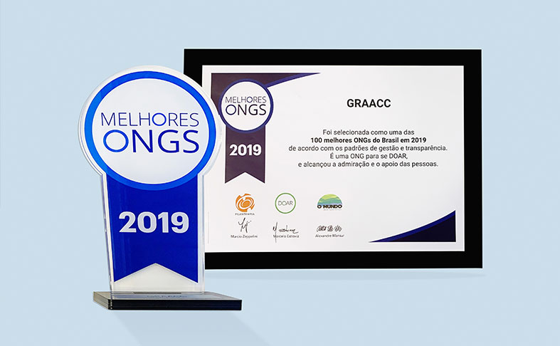 GRAACC está entre as melhores ONGs para doar