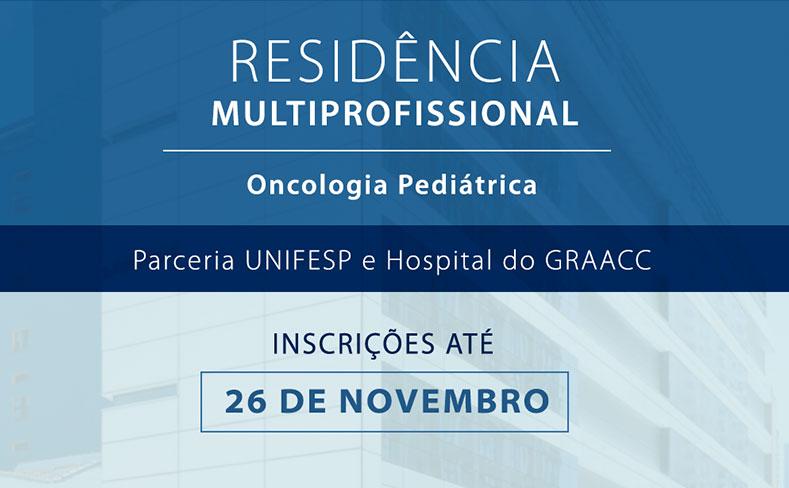 Residência Multiprofissional em Oncologia Pediátrica