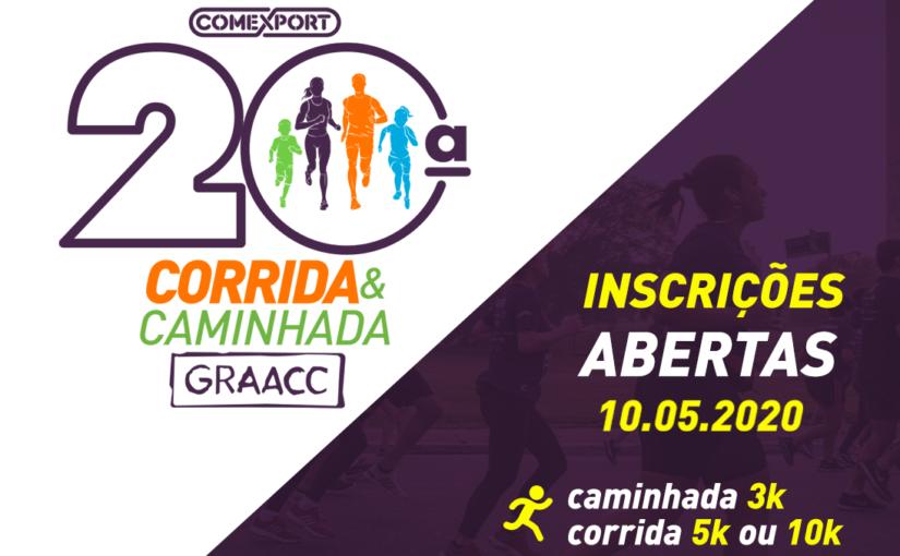 20ª CORRIDA E CAMINHADA GRAACC