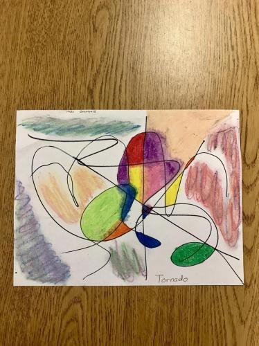 22Kandinsky Inspired22 by Fourth Graders