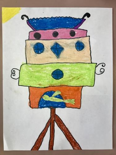 Birdhouse Third Graders-