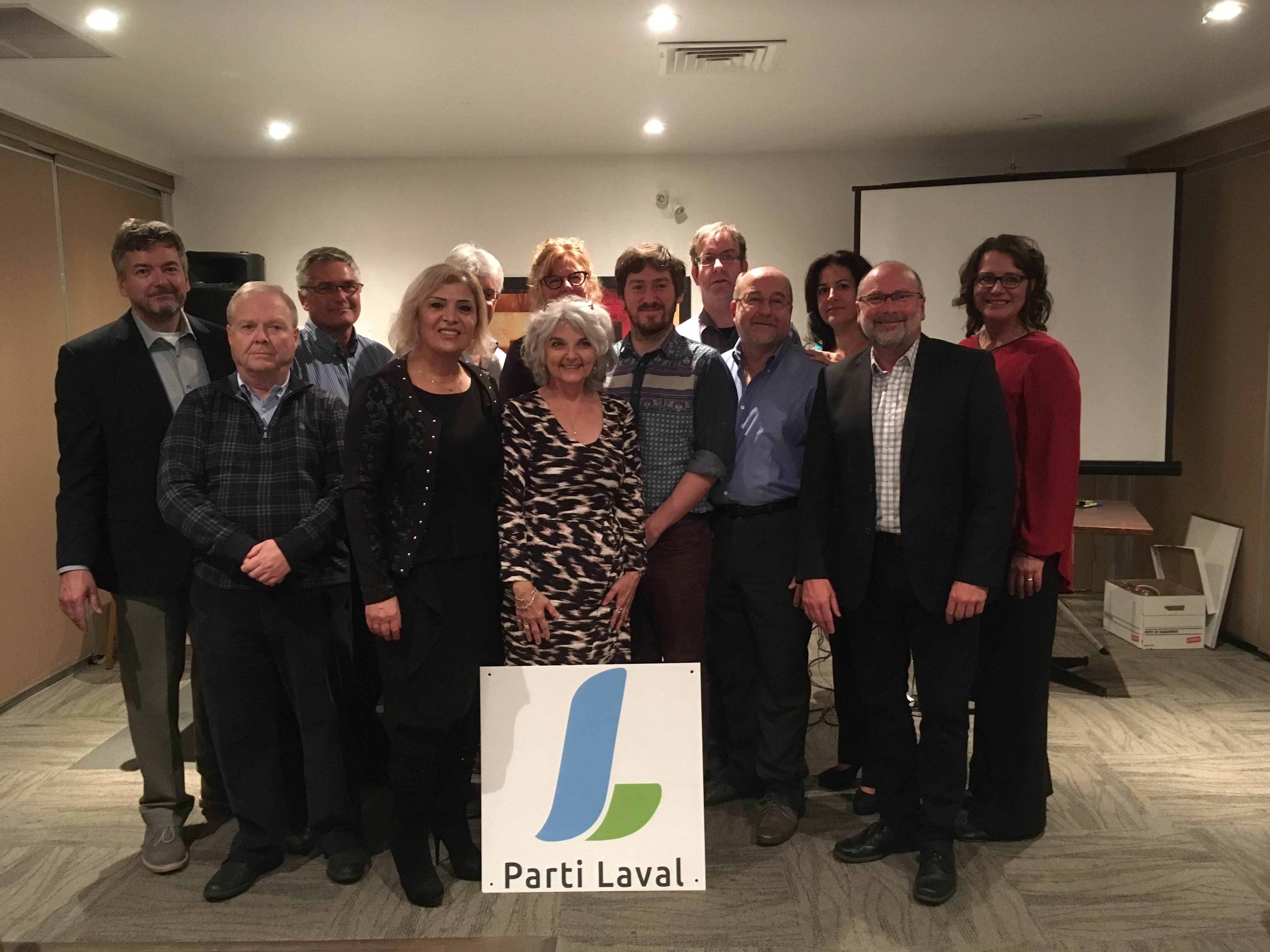 La première assemblée générale du Parti Laval adopte son conseil d'administration