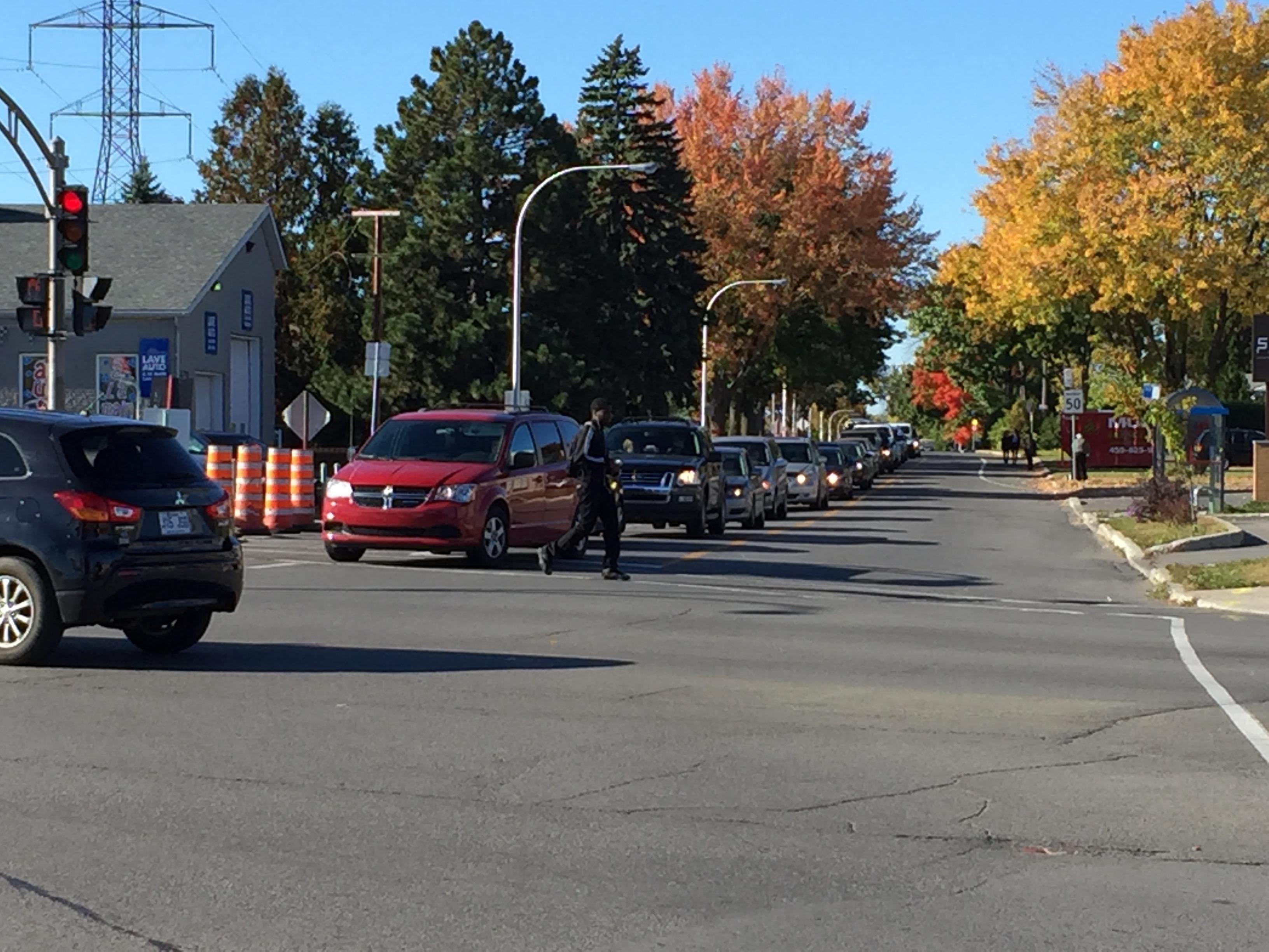 Le chaos sur le boulevard Labelle et le quartier Fabreville Est