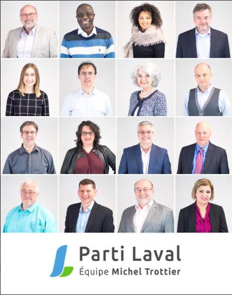 Le Parti Laval annonce une première vague de candidats