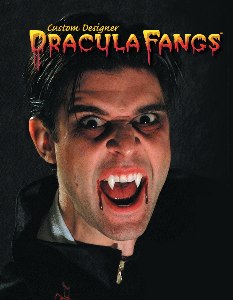 Traditional Dracula Fangs
