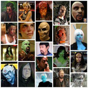 Foam Latex Masks and Prosthetic Appliances
