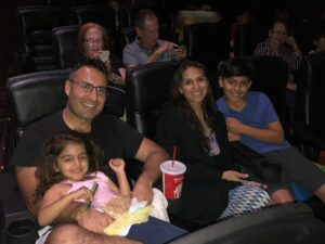Family Day at the Movies