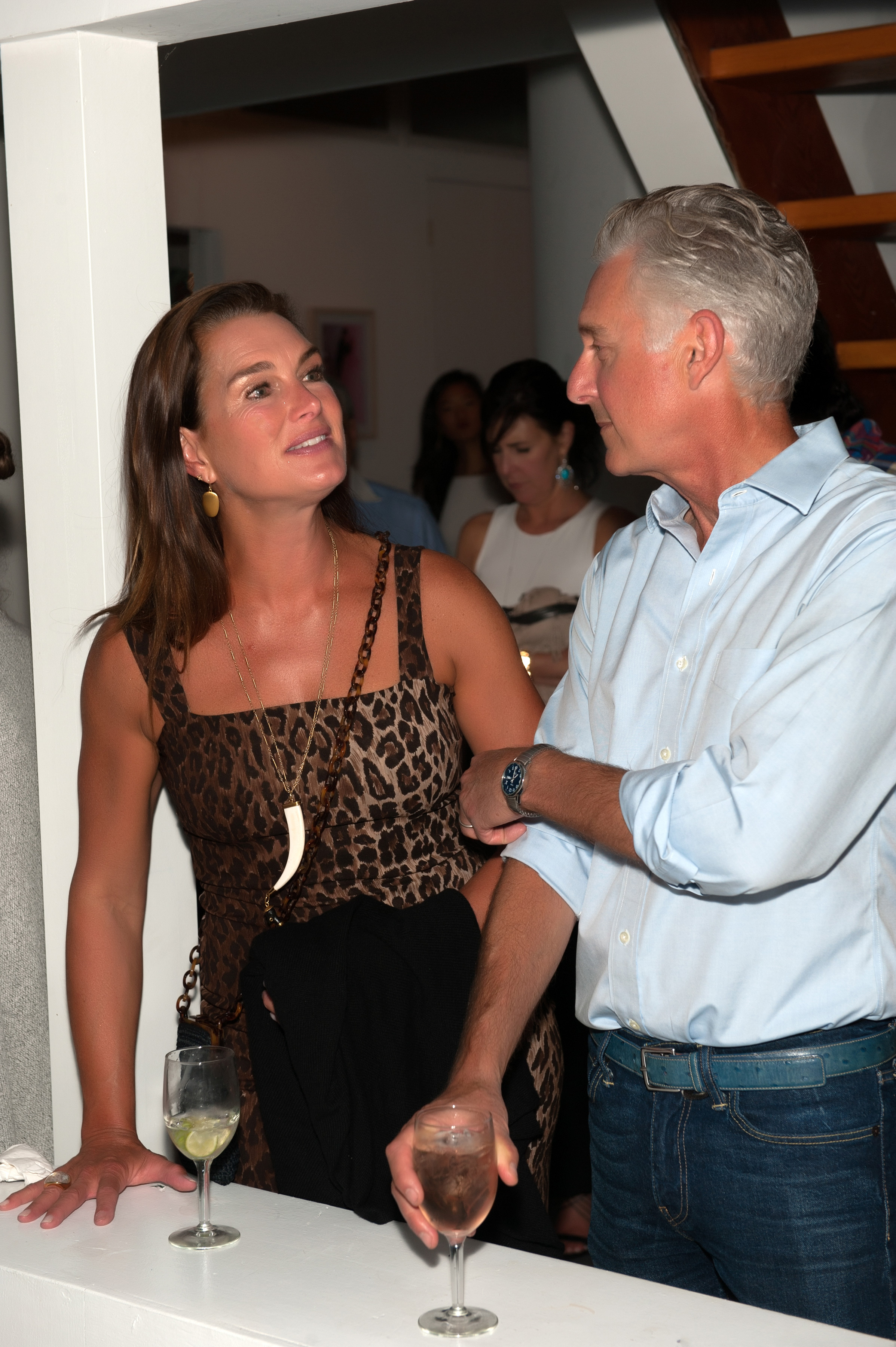 Brooke-Shields-and-David-Kratz,-Photo-by-Daniel-Gonzalez