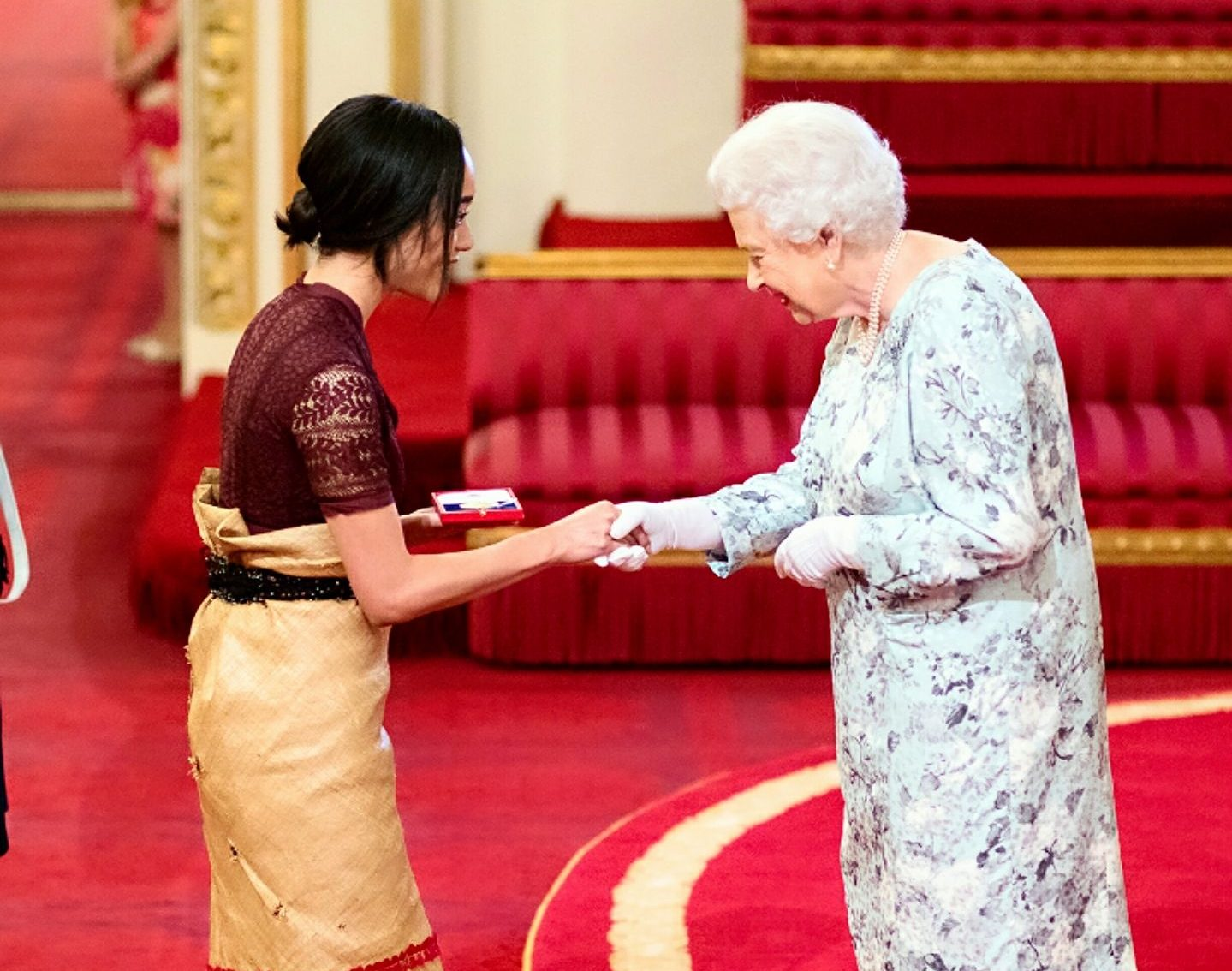 Elizabeth Kitè and the Queen's Young Leader Programme