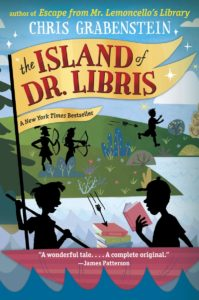 GRABENSTEIN--THE ISLAND OF DR. LIBRIS cover