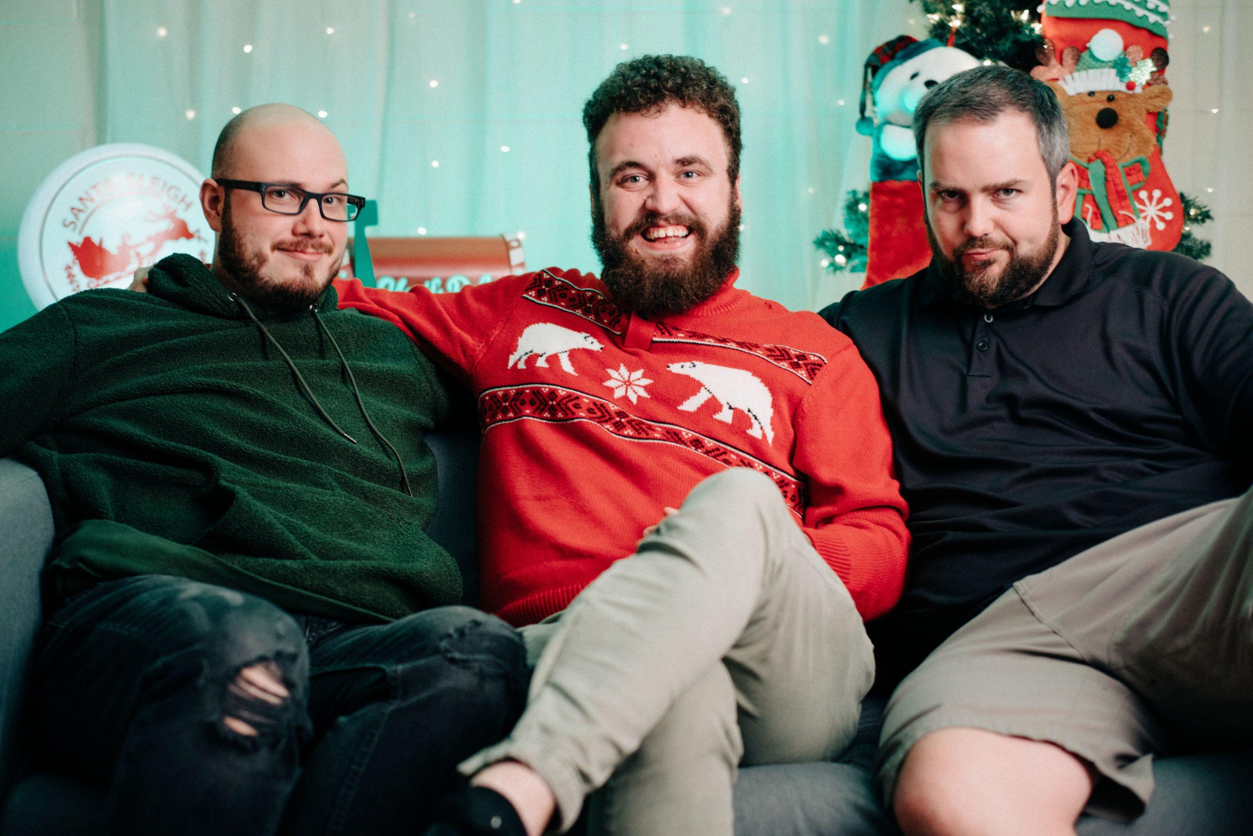 DECK THE HALLMARK--Panda, Brandon, and Dan