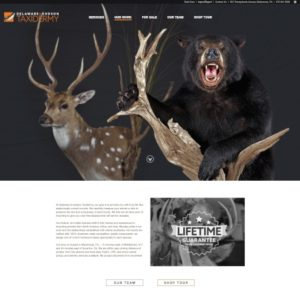 Delaware & Hudson Taxidermy website