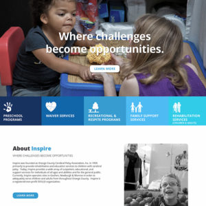 Inspire website
