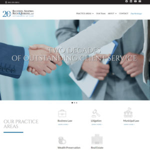 Blustein, Shapiro, Rich & Barone, LLP website