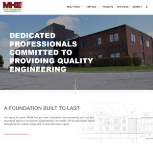McGoey, Hauser & Edsell Engineers website