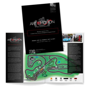 Art In Motion event program