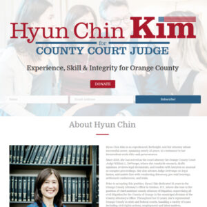 Kim for County Court Website