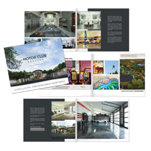 Motor Club Estates brochure