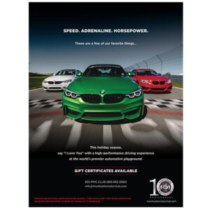 Monticello Motor Club Autoweek print ad