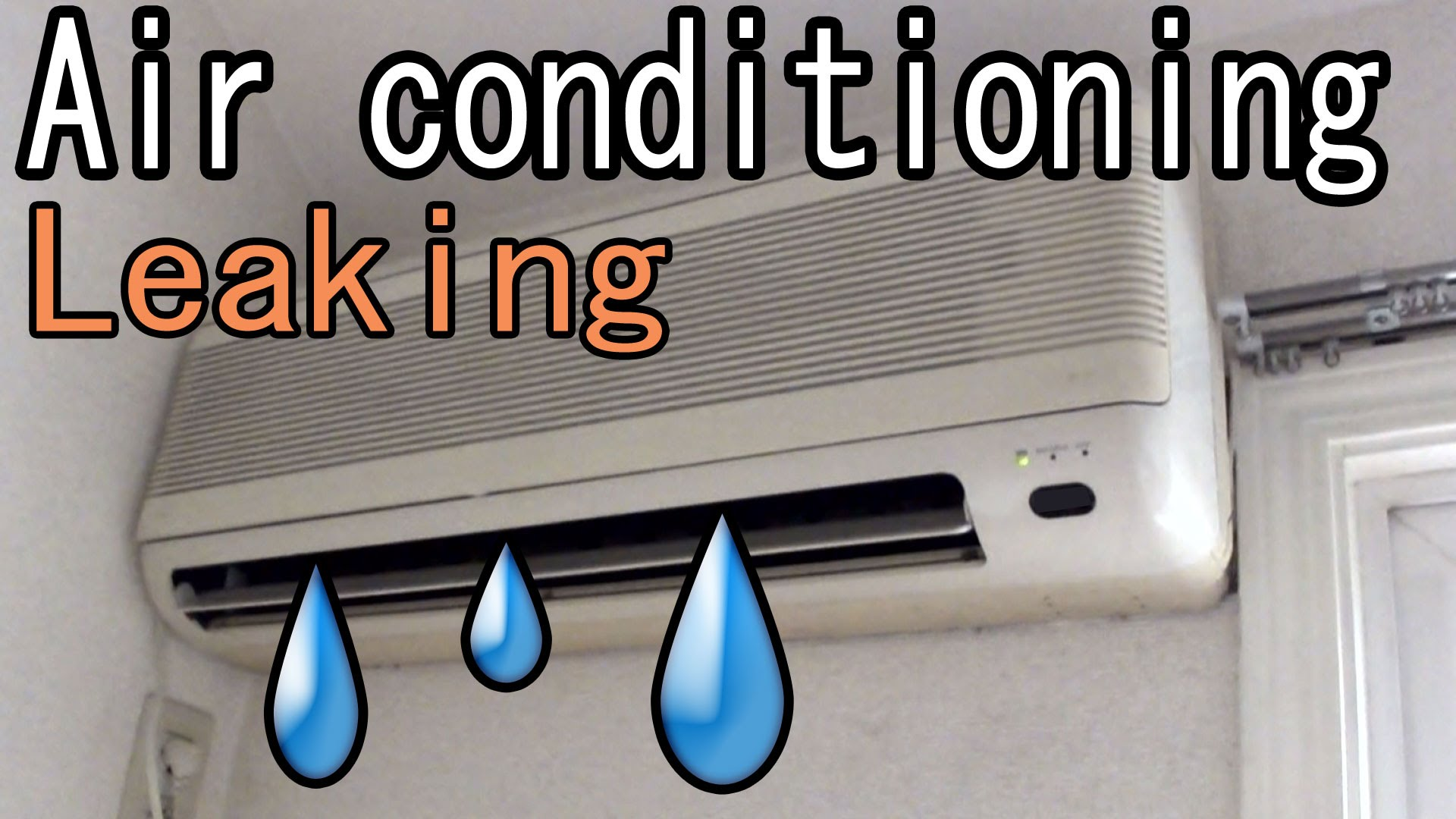 Why is there water coming from my Air Conditioner?