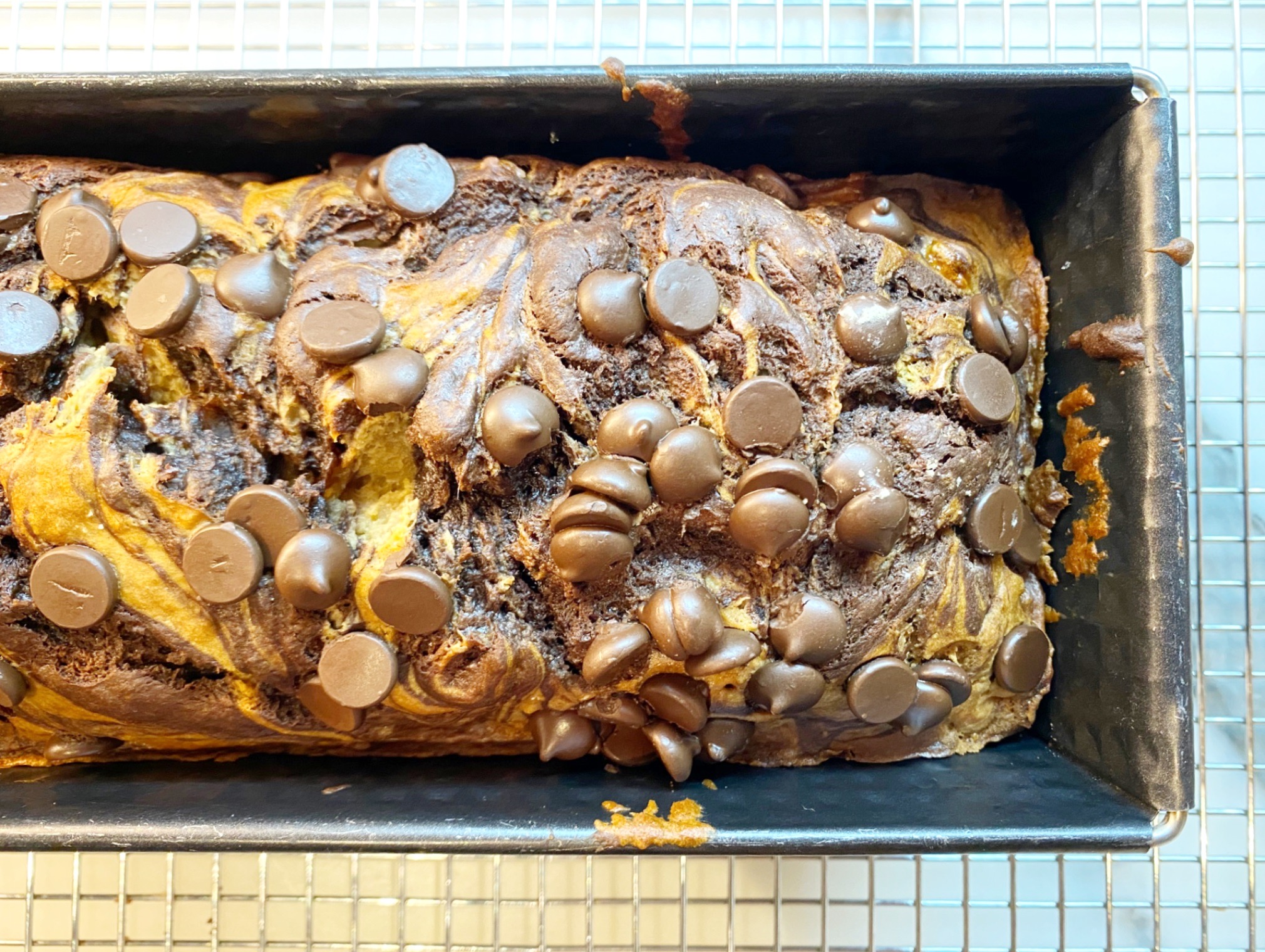 ONE BOWL OAT CHOCOLATE CHIP BANANA BREAD