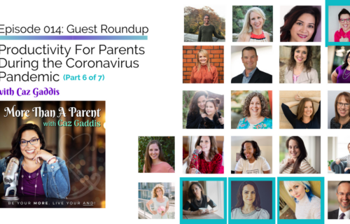More Than A Parent Podcast Roundup on Productivity 6