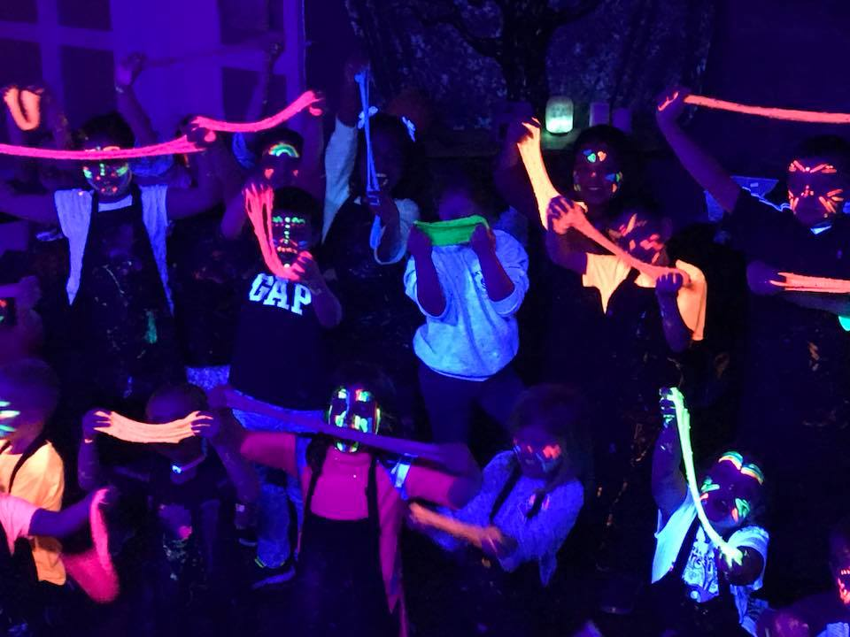 blacklight slime
