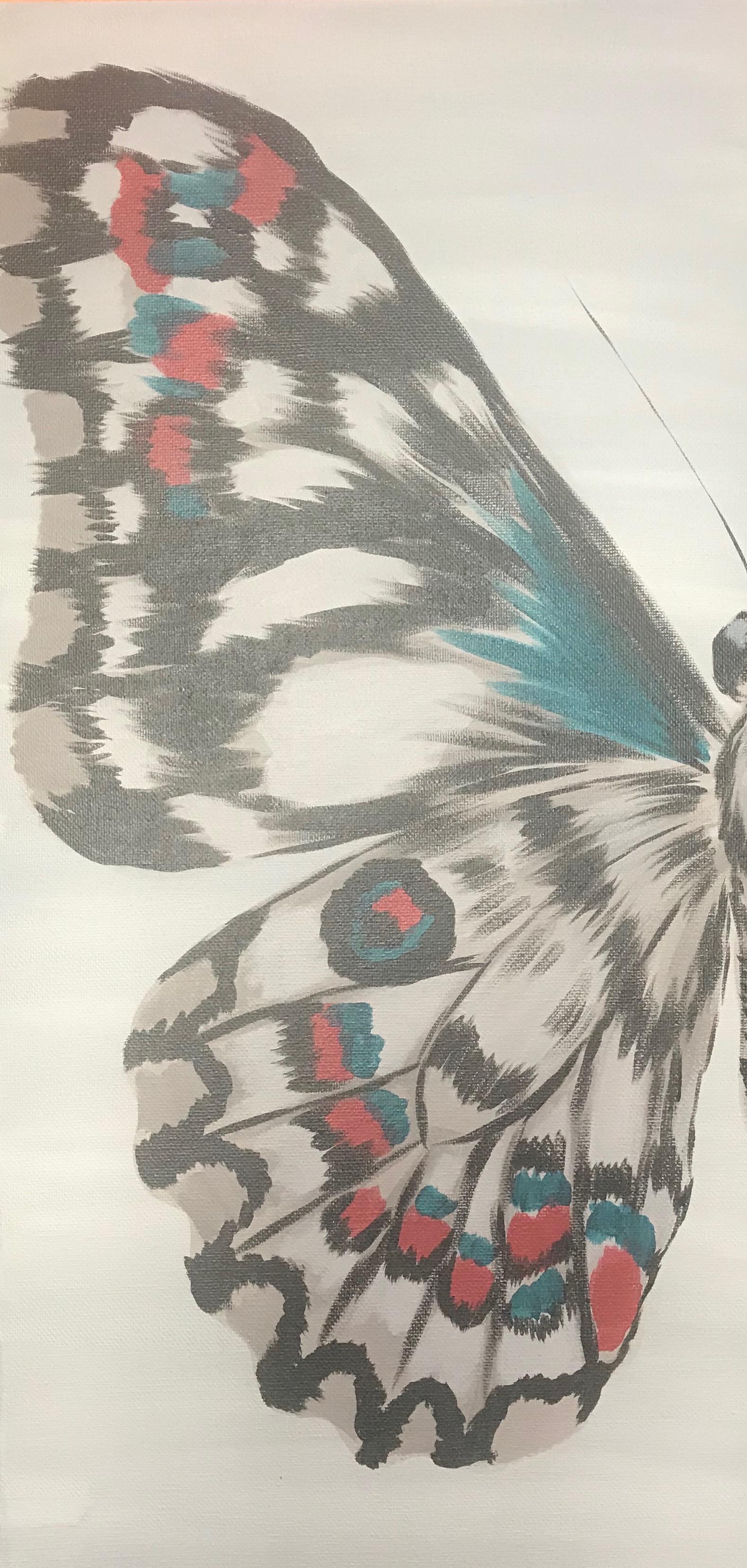 Paint Night-Moth Wing