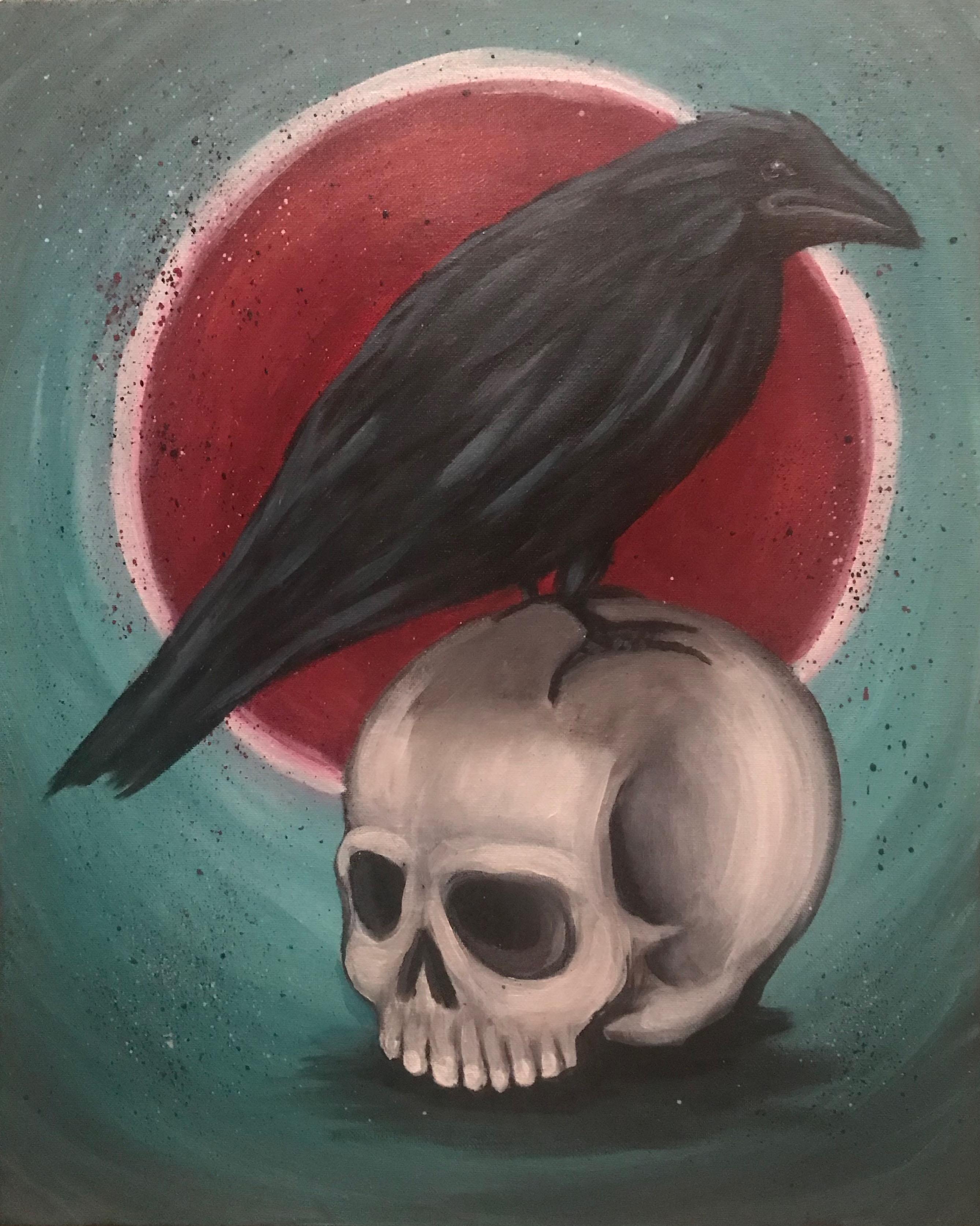 Adult Paint Night-Poe Crow