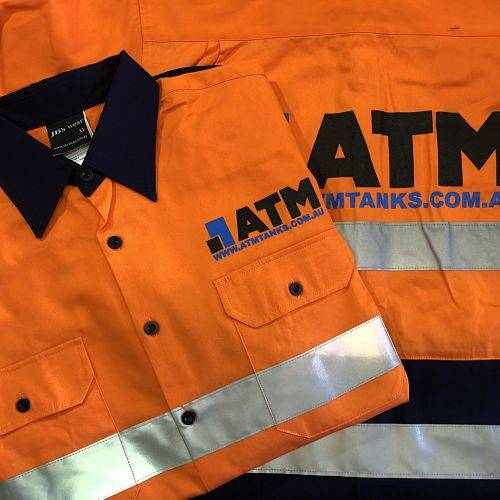 ATM Industrial Panel Tanks Workwear Set 1