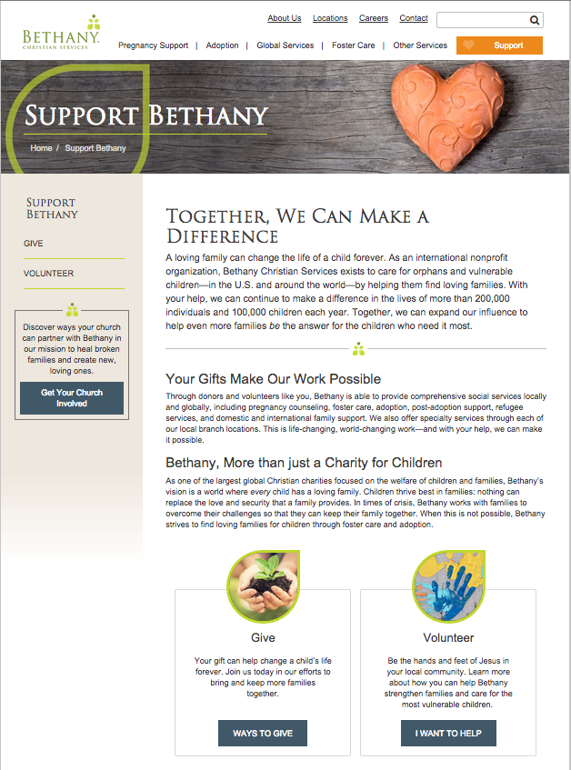 Bethany Christian Services 2