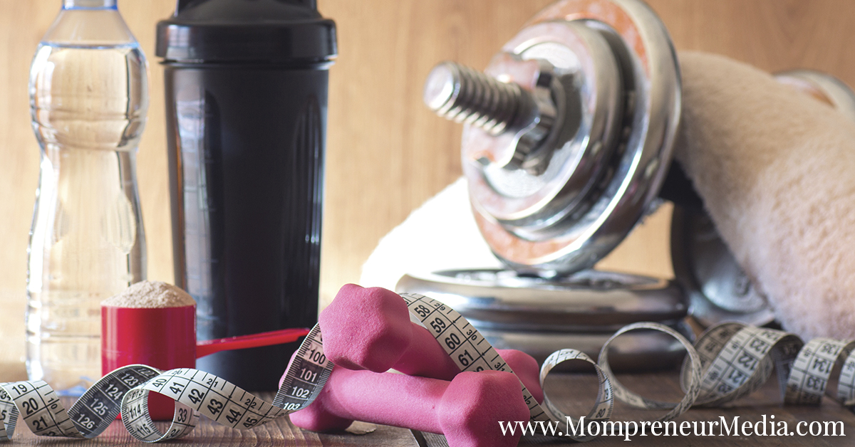 Marketing health and fitness products through social media