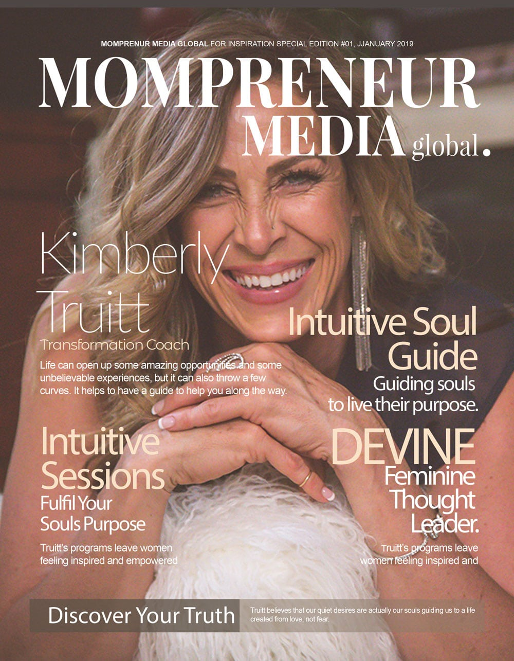 Kimberly Truitt Cover of Mompreneur Media