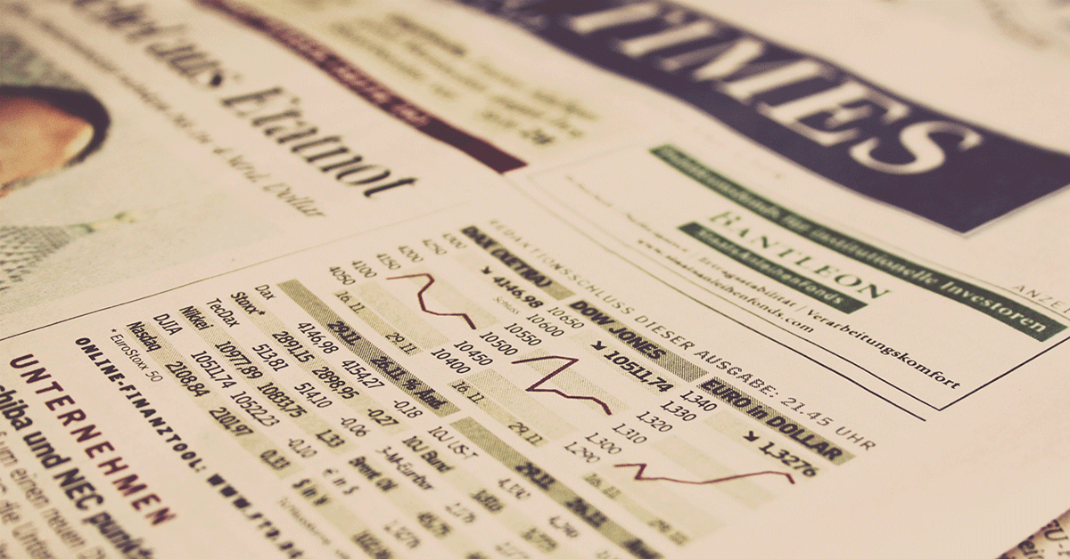 Why it Pays to Stay on top of Changing Market News and Conditions