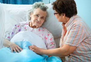hospital etiquette with elderly