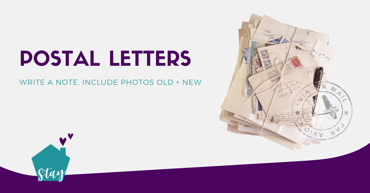 elderly pen pals
