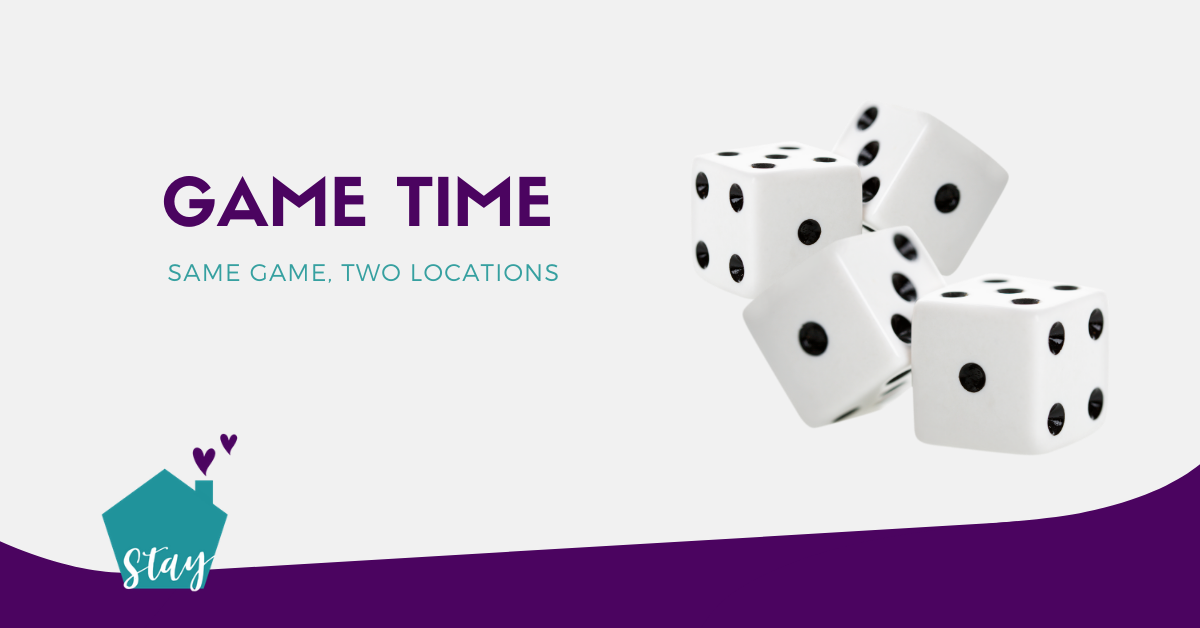 Stay at Home with Home To Stay – Game Time