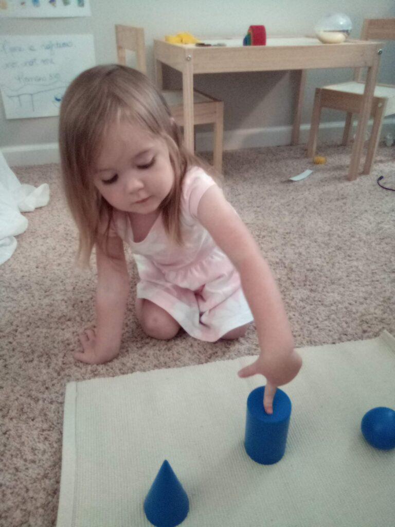 Geometric Solids, 3-6 Montessori, Montessori Homeschool, Sensorial Materials