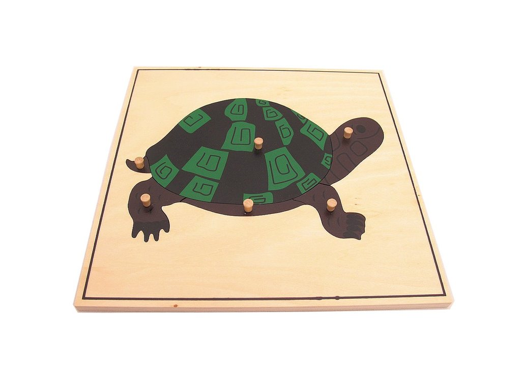 Montessori-Turtle-Puzzle-Zoology-Puzzle