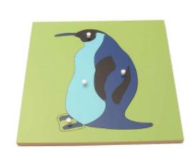Penguin Montessori Puzzle
