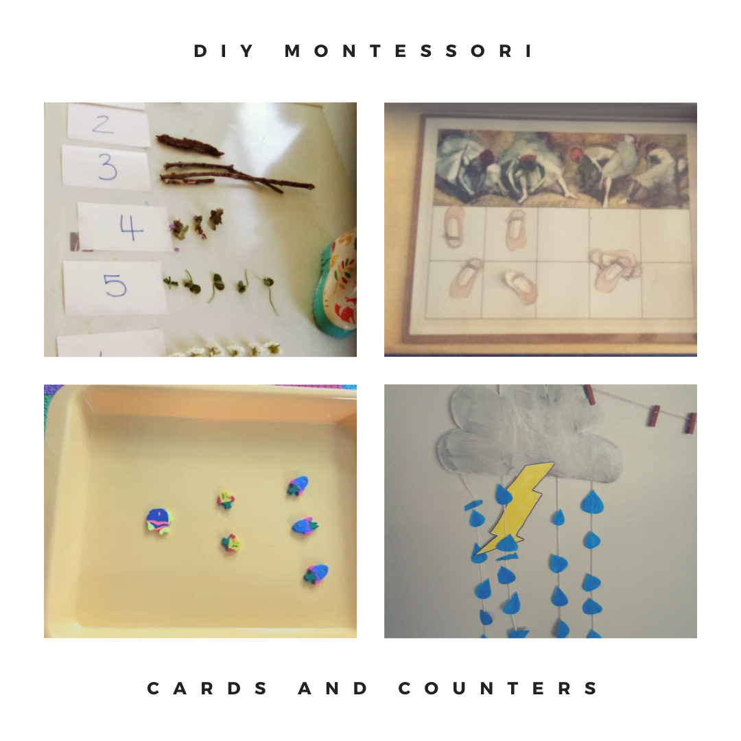 DIY Montessori Cards and Counters