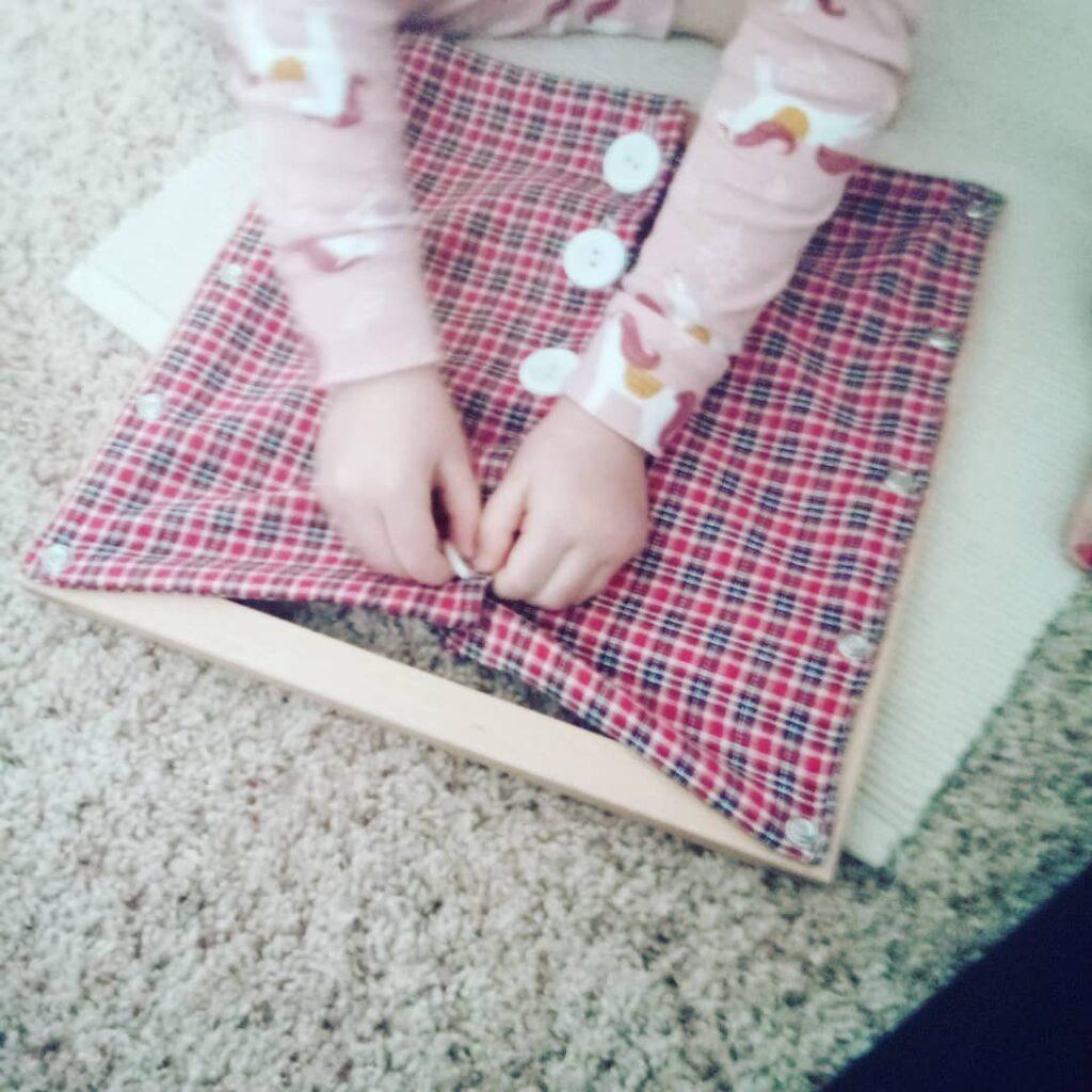 Montessori Dressing Frames